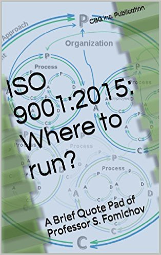 ISO 9001:2015 Where to Run? A bried quote pad.